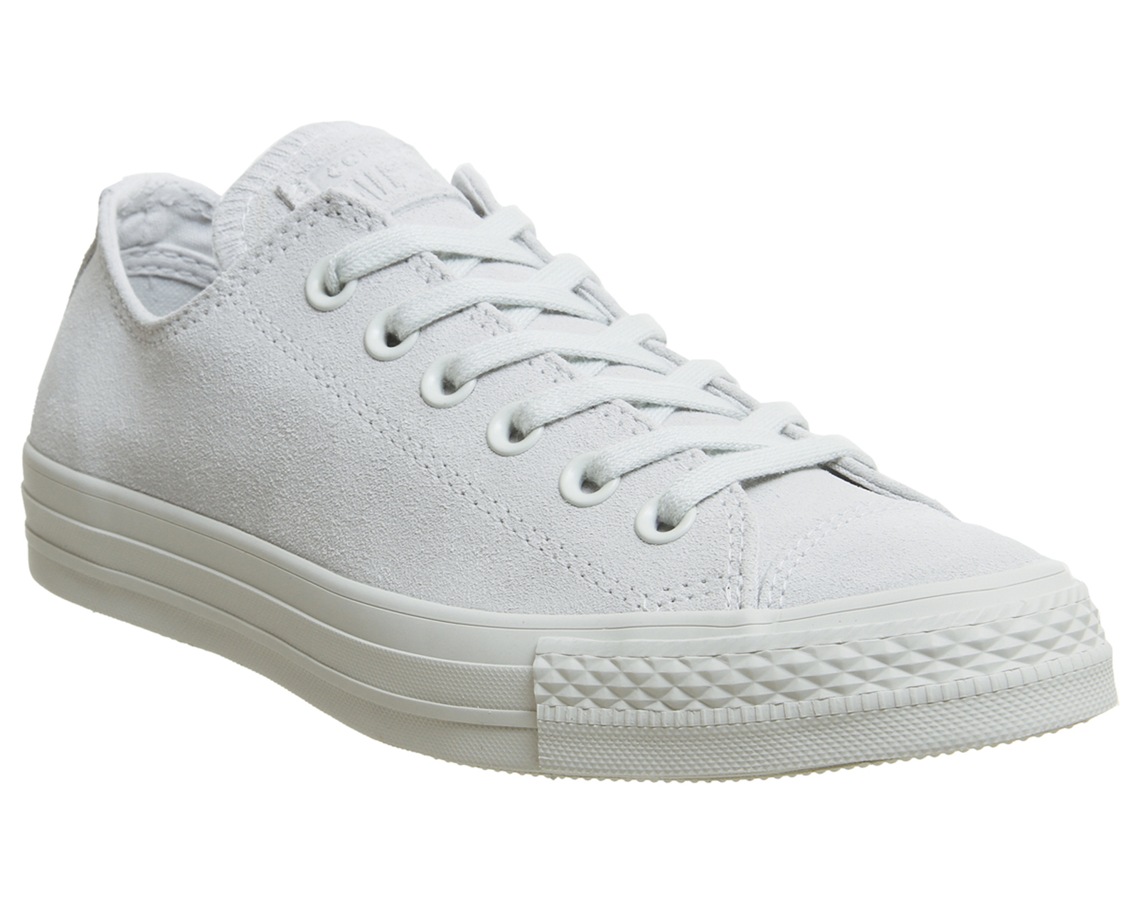 eb6f958d153e Sentinel Converse Converse All Star Low Trainers Light Silver Grey Trainers  Shoes