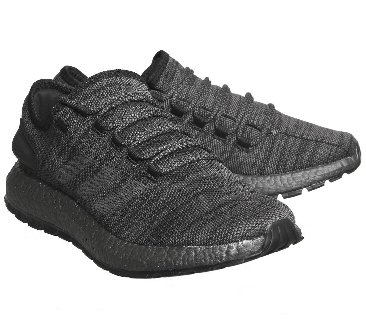 b7a3d13242171 Adidas Pureboost Atr Trainers Black Solid Grey Trace Grey Trainers ...