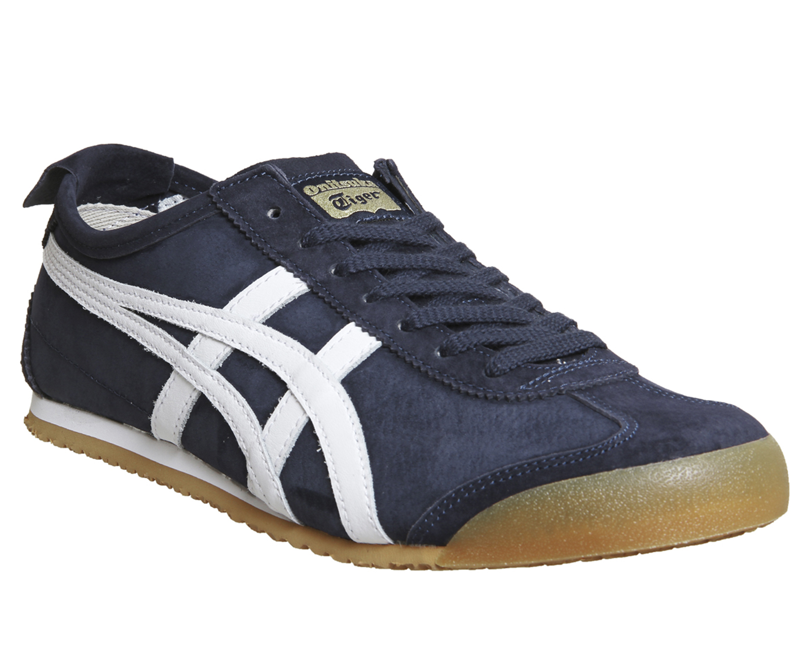 Sentinel Womens Onitsuka Tiger Mexico 66 NAVY WHITE GUM EXCLUSIVE Trainers  Shoes d9442966a9
