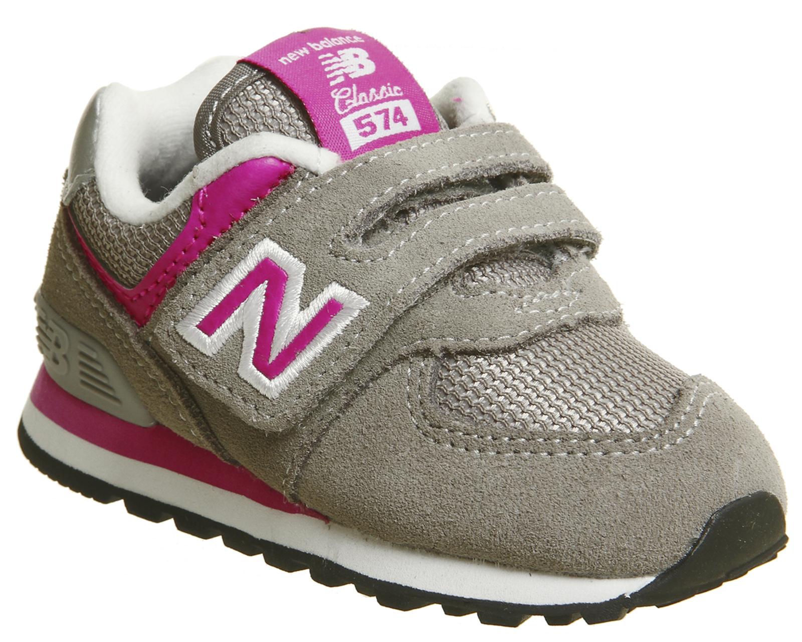 bffcc09013 SENTINEL Bambini nuovi equilibrio 574 neonato grigio grigio rosa bambini