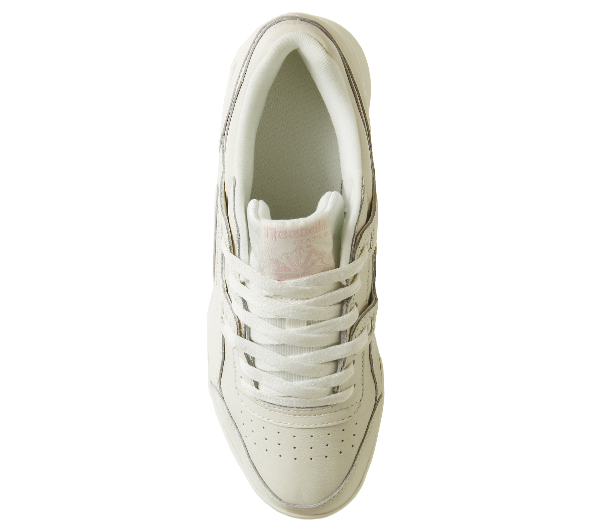 4f51cbd4eace Womens Reebok Workout Plus Trainers Chalk Practical Pink Trainers ...