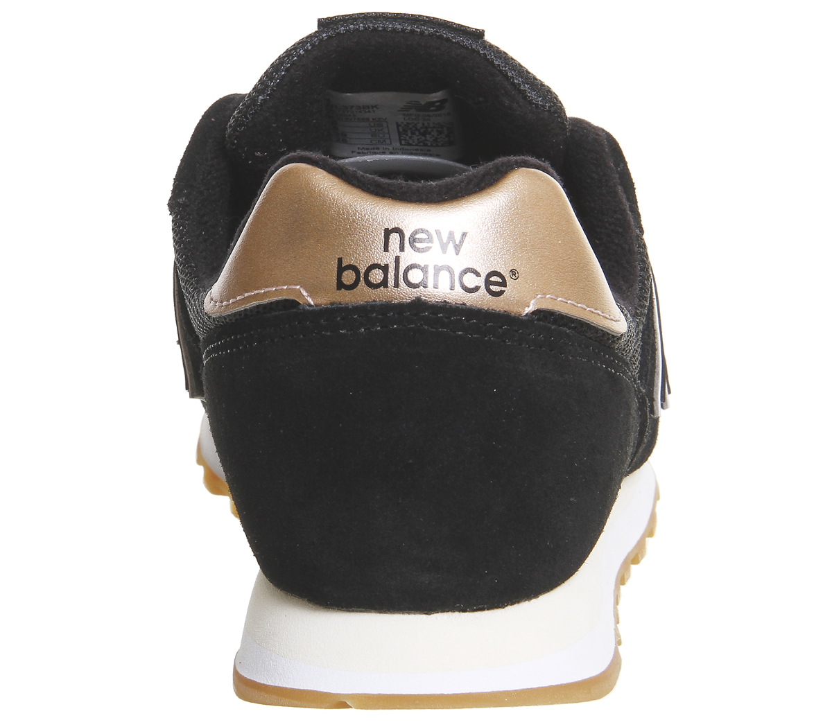 new balance 373 gold rose