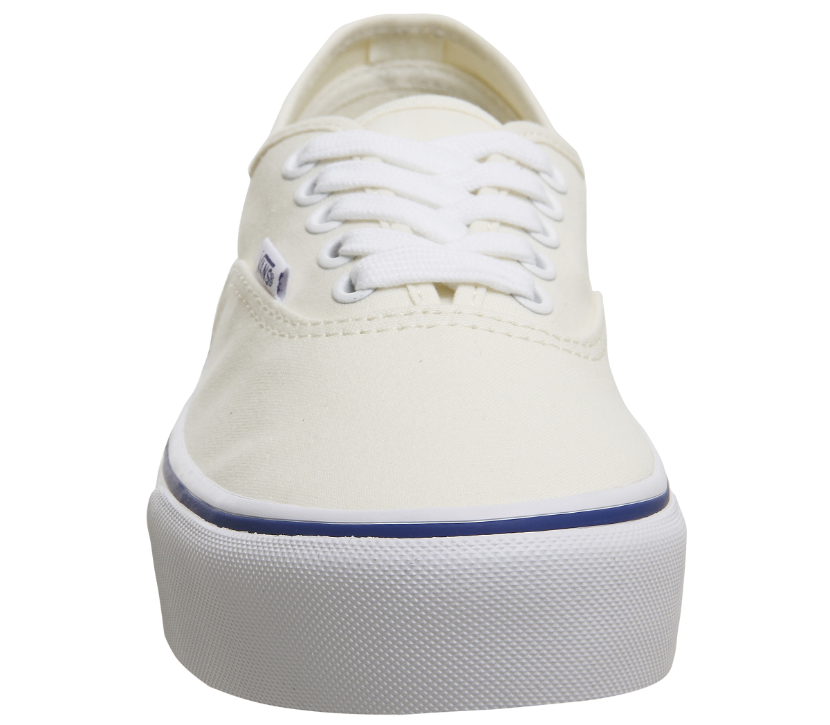 Sentinel Womens Vans Authentic Platforms Classic White Trainers Shoes f282f652ef1