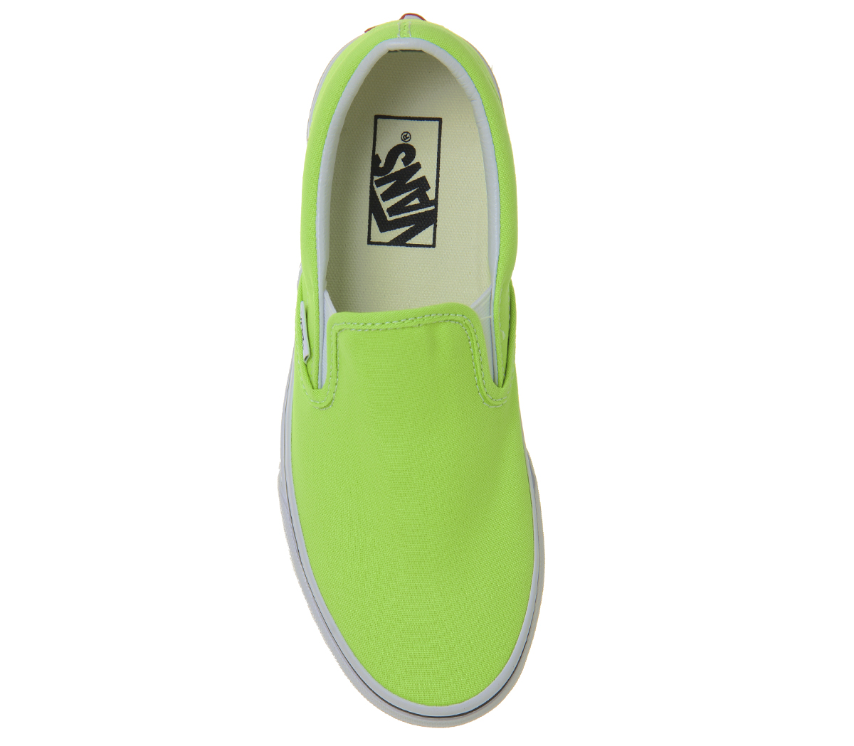 01bb9983a228 Sentinel Womens Vans Vans Classic Slip On Trainers Jasmine Green Trainers  Shoes