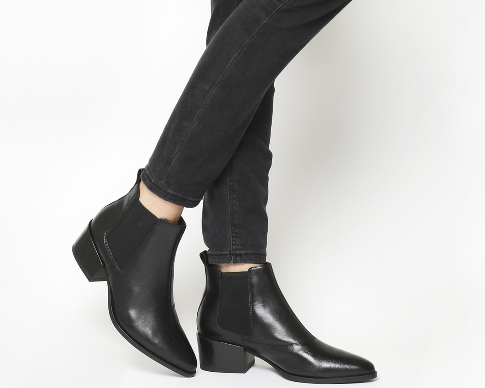 d7a56503b5fa Details zu Damen Vagabond Marja Stiefeletten Schwarze Lederstiefel