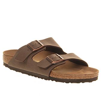 Uomo Birkenstock Arizona Due Sandali con Cinturino Moca Sandali  cbdc71782dc