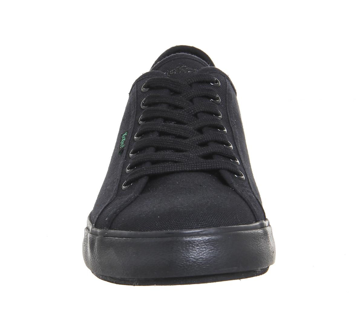 Herren Herren Herren Kickers Tovni Lacer Sneakers BLACK CANVAS Casual Schuhes b227e6