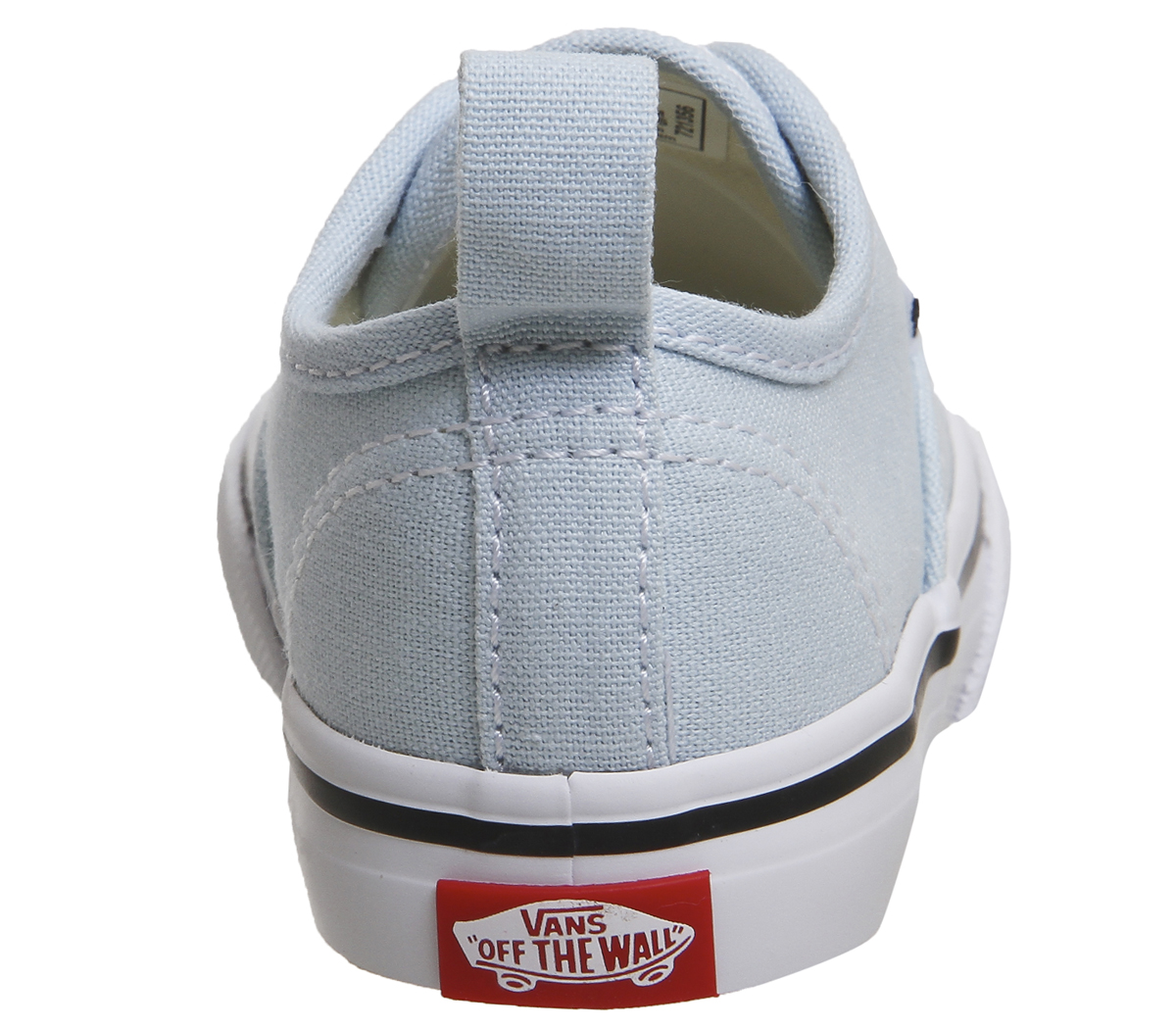 b74691978c51de Kids Vans Authentic Toddlers Baby Blue True White Kids