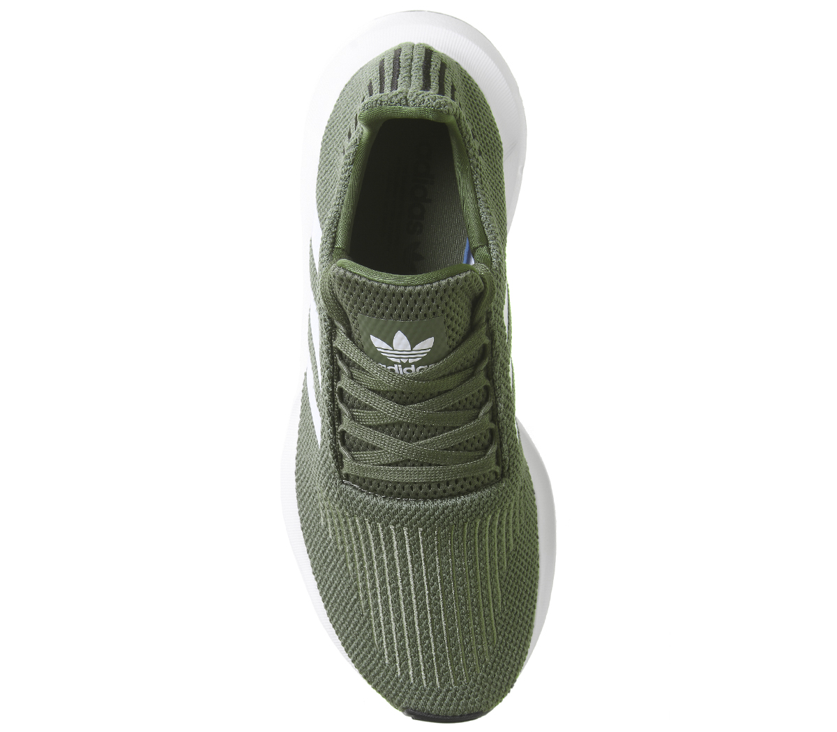 e96143066234b Womens Adidas Swift Run Trainers Base Green Trainers Shoes