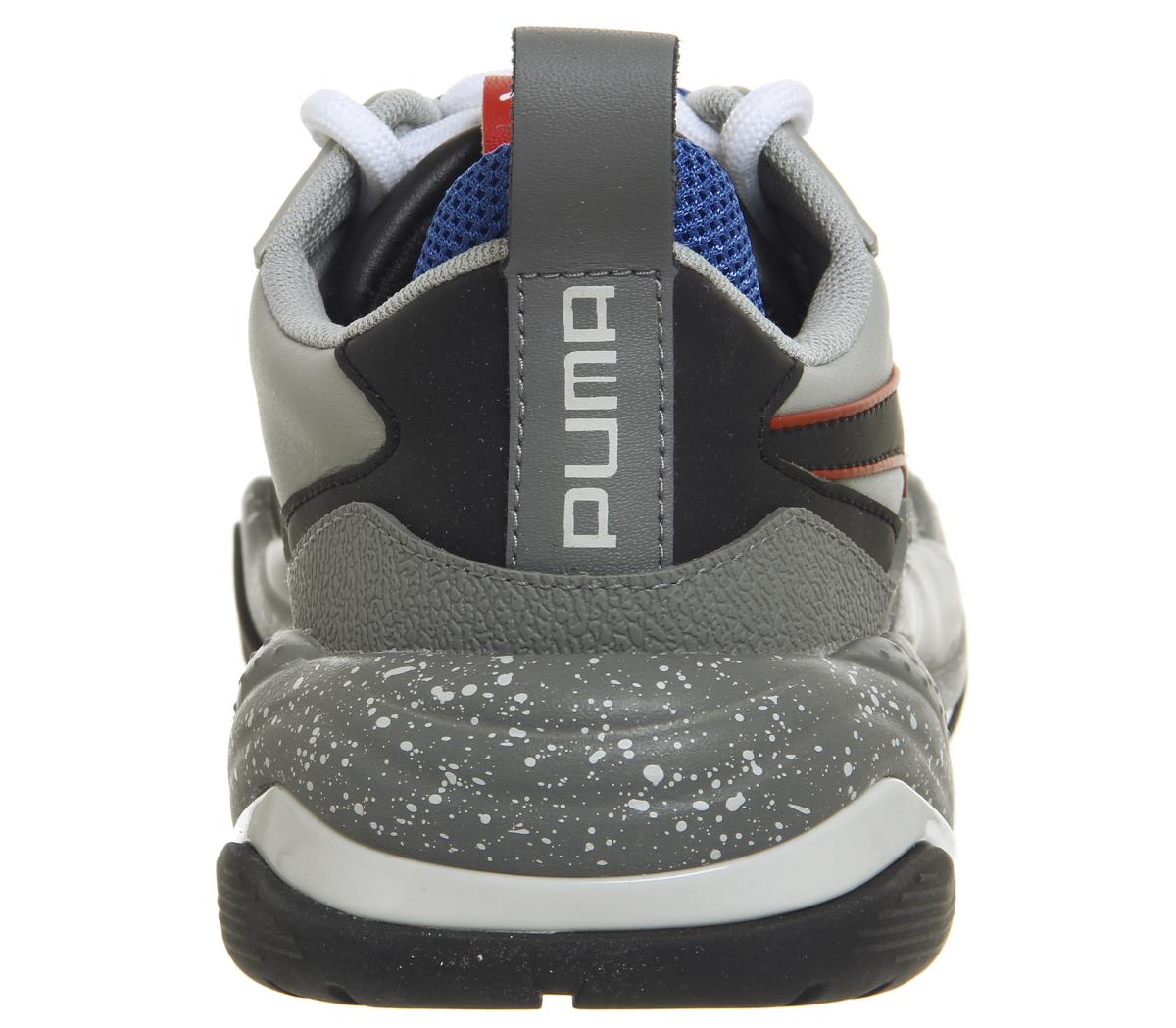 detailed look f31b3 9e8a9 SENTINEL Puma Womens Thunder elettrico formatori grigio viola PUMA  allenatori nero scarpe