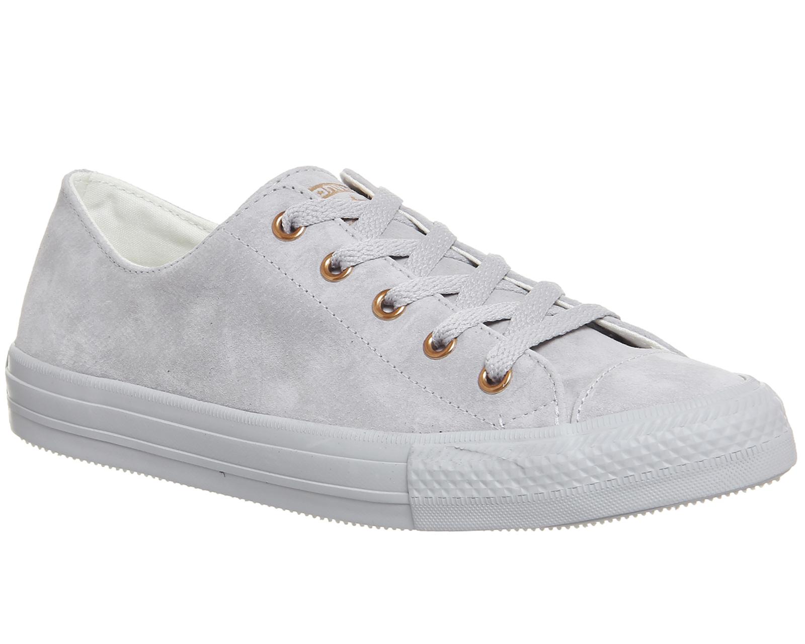 c752893788fc55 Sentinel Unisex Converse Ctas Gemma Low Grau ASH Grau ROSE GOLD EXCLUSIVE  Sneaker