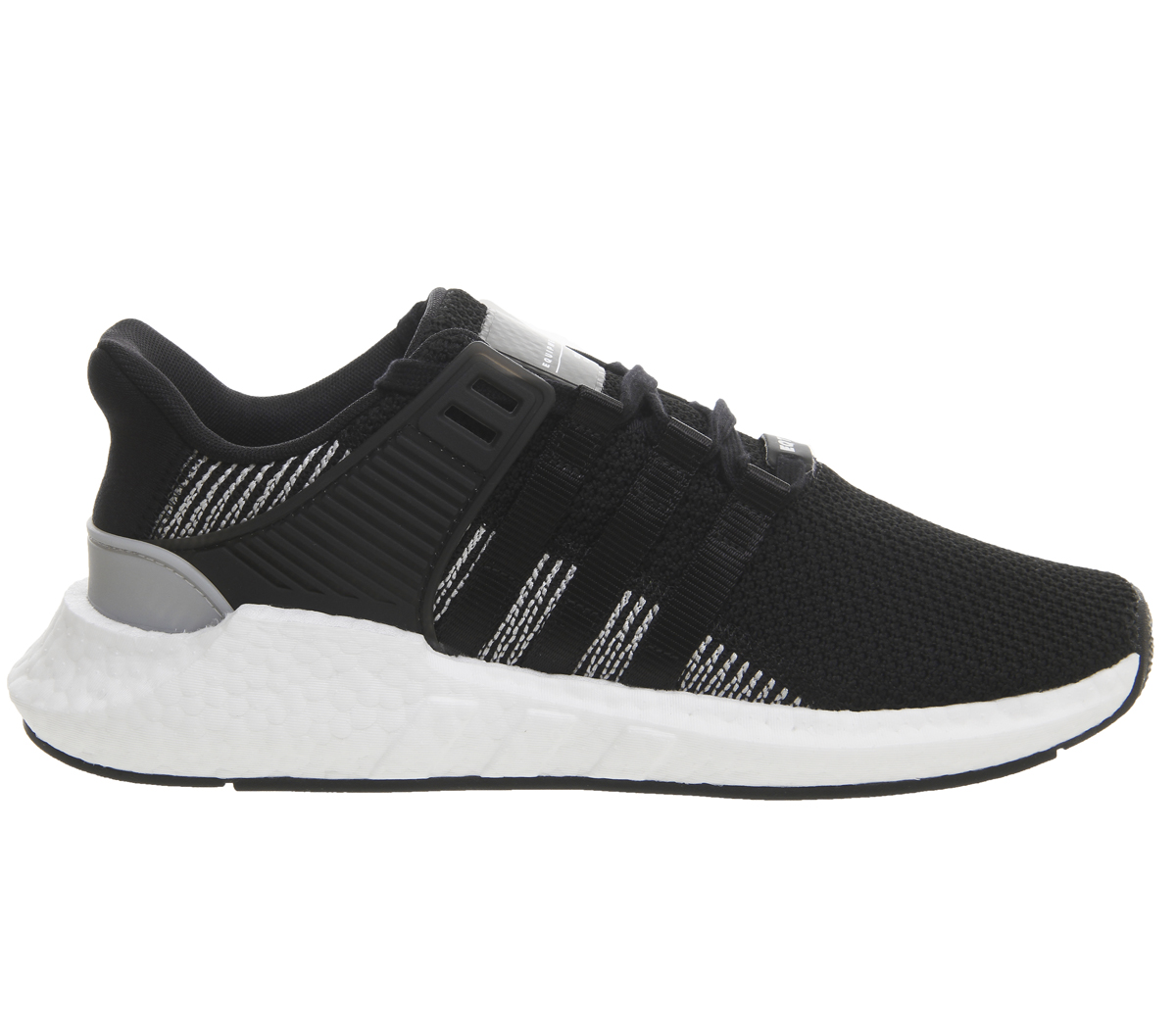 sports shoes 6b07c 035f6 SENTINELLE Adidas Eqt Support 93 17 CORE formateurs blanc noir chaussures