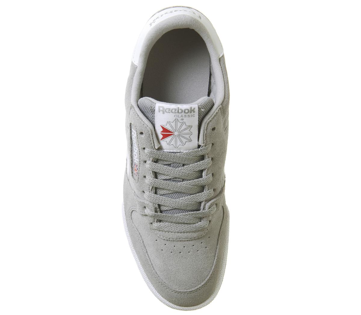ecf9afae071 Reebok Phase 1 Pro Baskets Étain Gris Blanc Baskets Chaussures