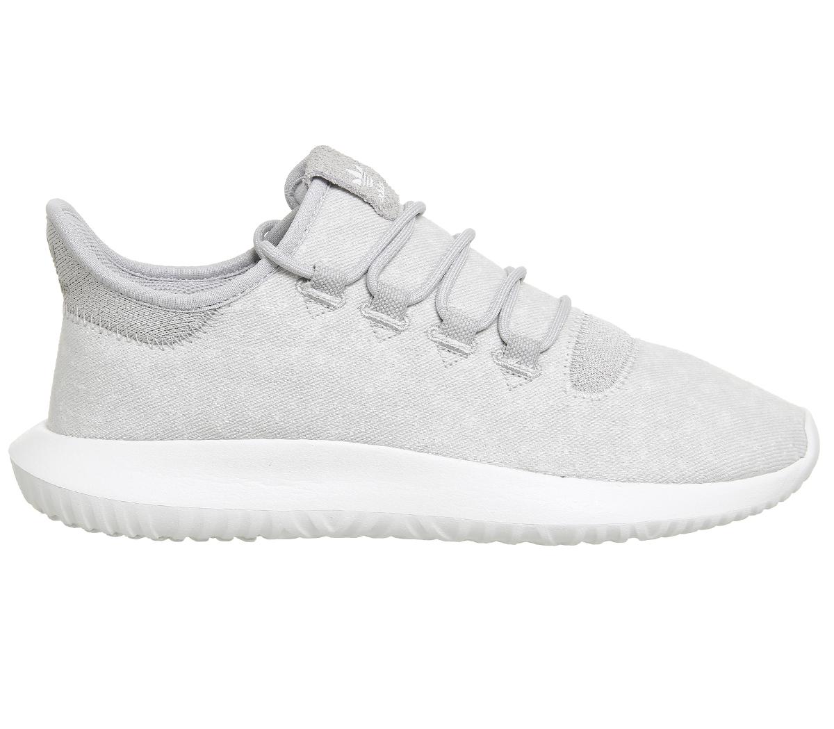 Adidas tubular Shadow GRIS deux Blanc Baskets Chaussures; Photo 2/7 ...
