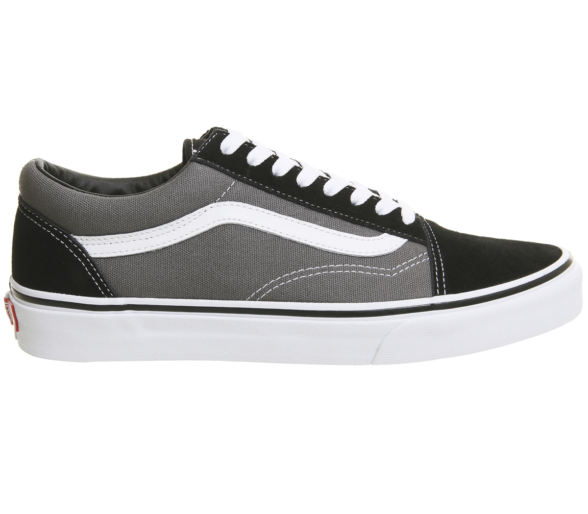 1d5a0ce9e8c24 CENTINELA Vans Old Skool entrenadores estaño negro zapatos
