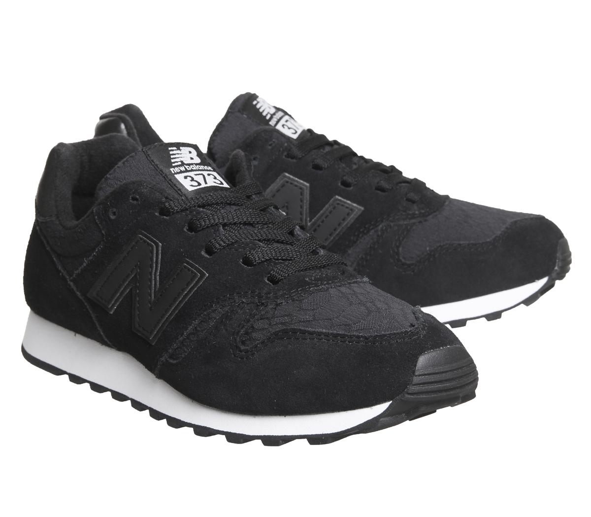 new balance 373 negro