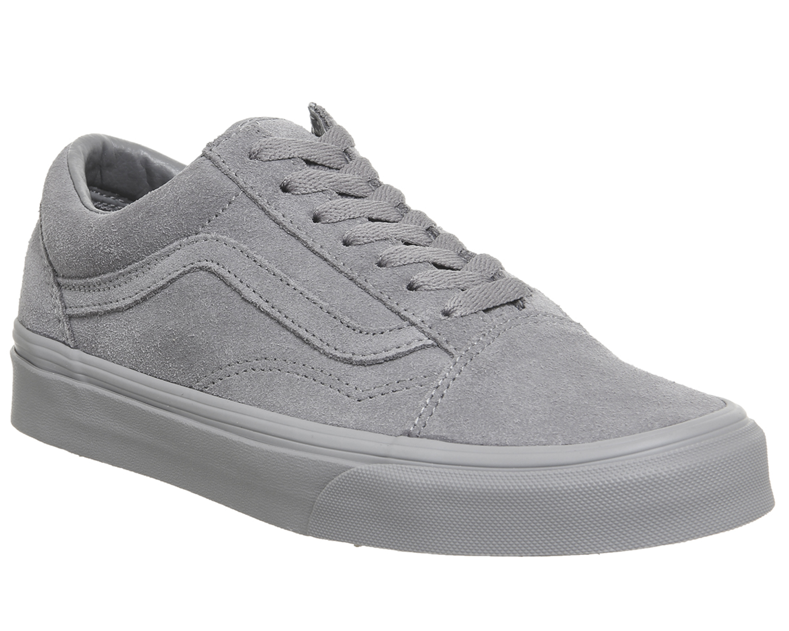 Sentinel Mens Vans Old Skool Trainers FROST GREY SUEDE EXCLUSIVE Trainers  Shoes 7afec41111ab