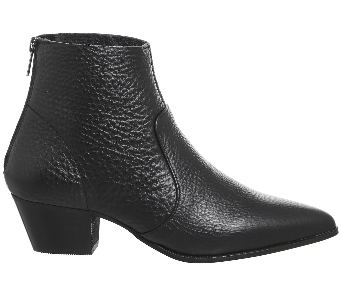 Damenschuhe Office Arrived Unlined Stiefel Western Stiefel BLACK LEATHER Stiefel Unlined 6cb4d1