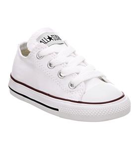 enfants-CONVERSE-ALL-STAR-bas-nourrisson-chaussures-blanc-enfants