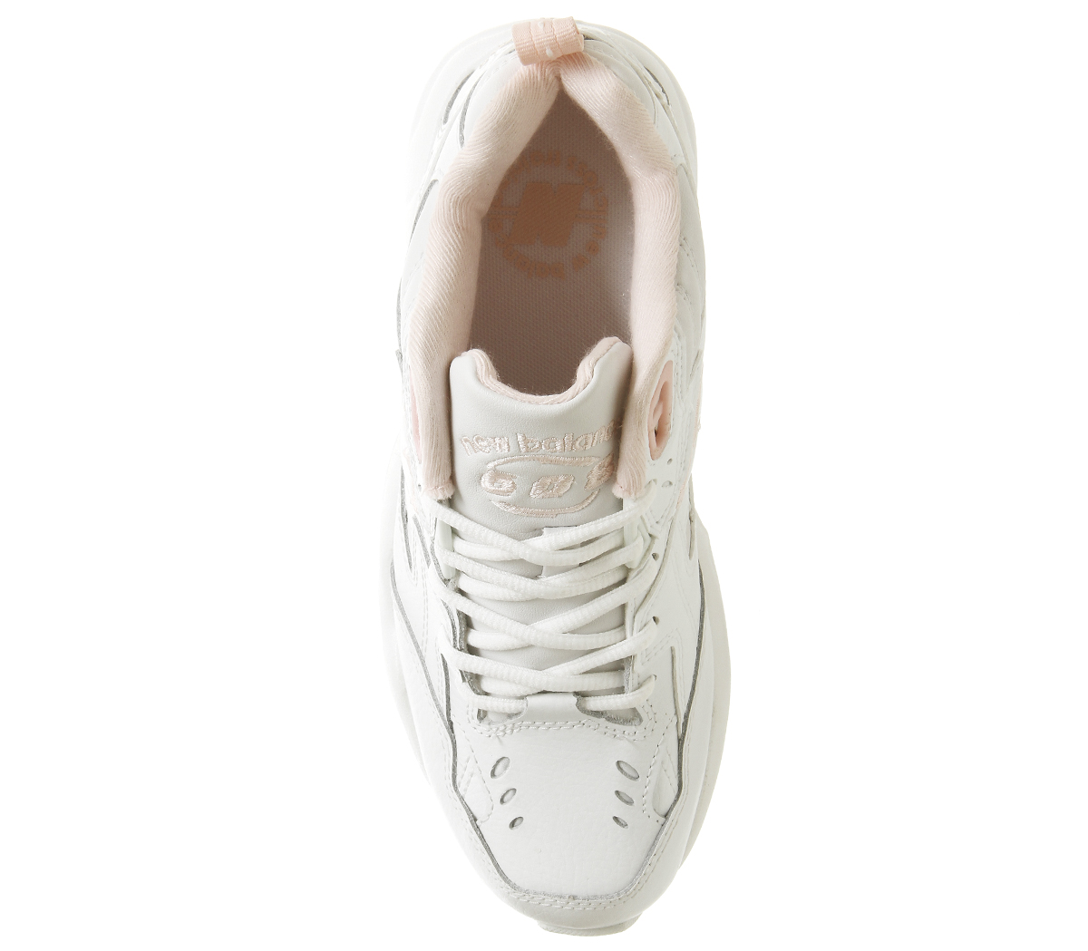 90a879000e145 Womens New Balance 608 Trainers Cream Pink Trainers Shoes | eBay