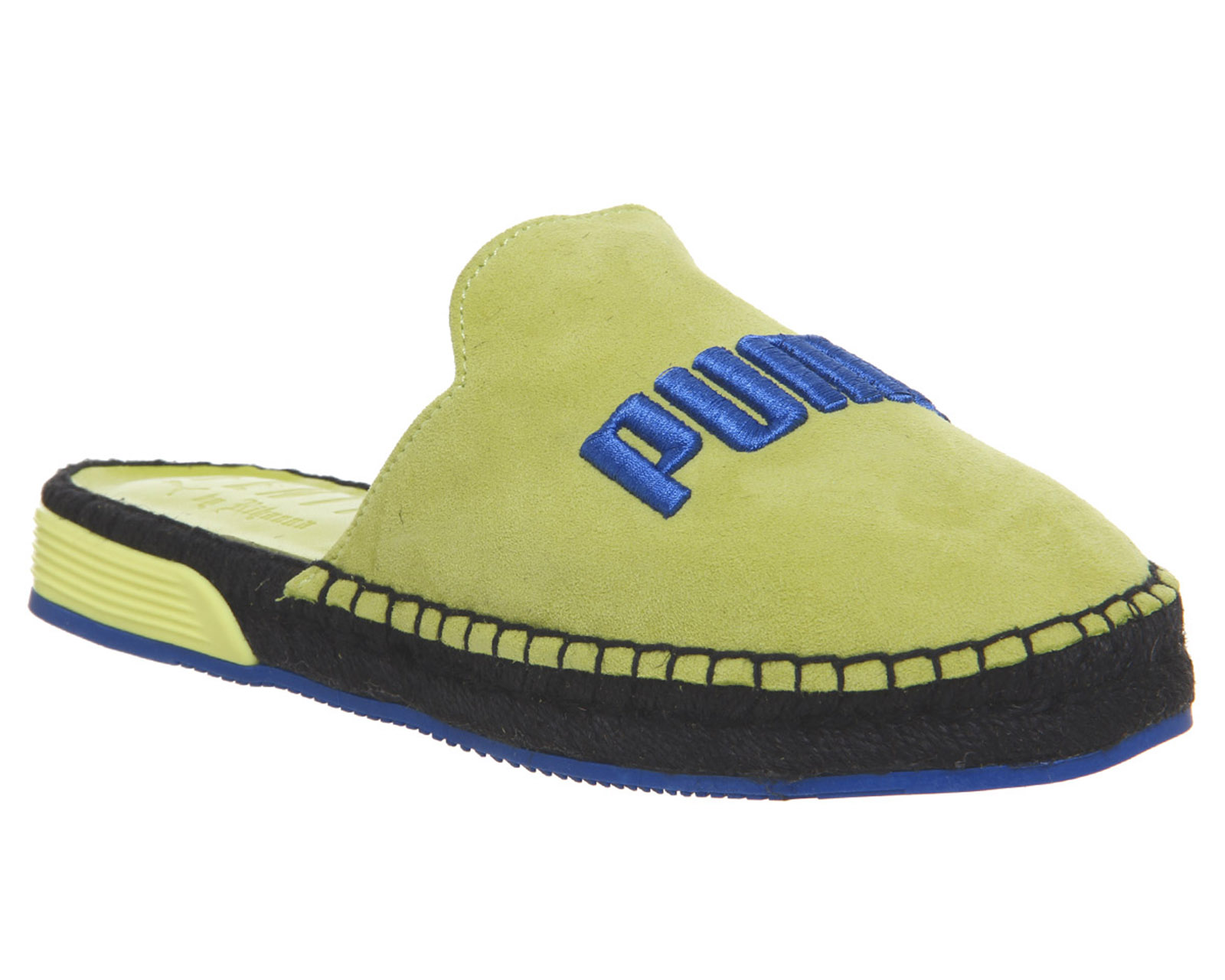 buy popular 0b274 190c7 Details about Womens Puma Fenty Espadrilles Sulphur Spring Blue Trainers  Shoes
