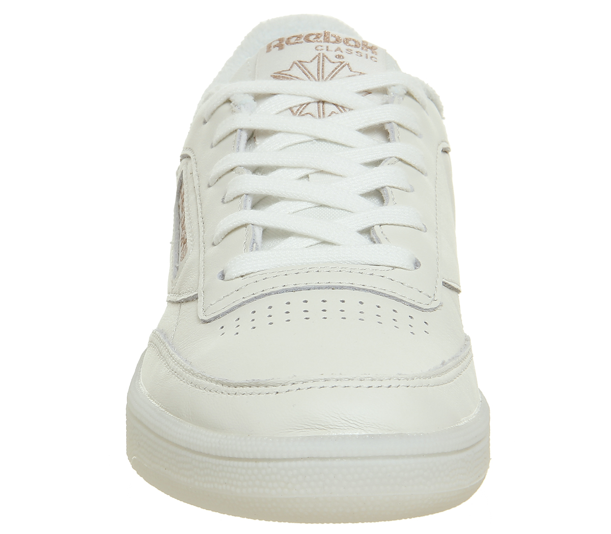 16e6e2f6858d3 Sentinel Womens Reebok Club C 85 Trainers Chalk Rose Gold Exclusive  Trainers Shoes