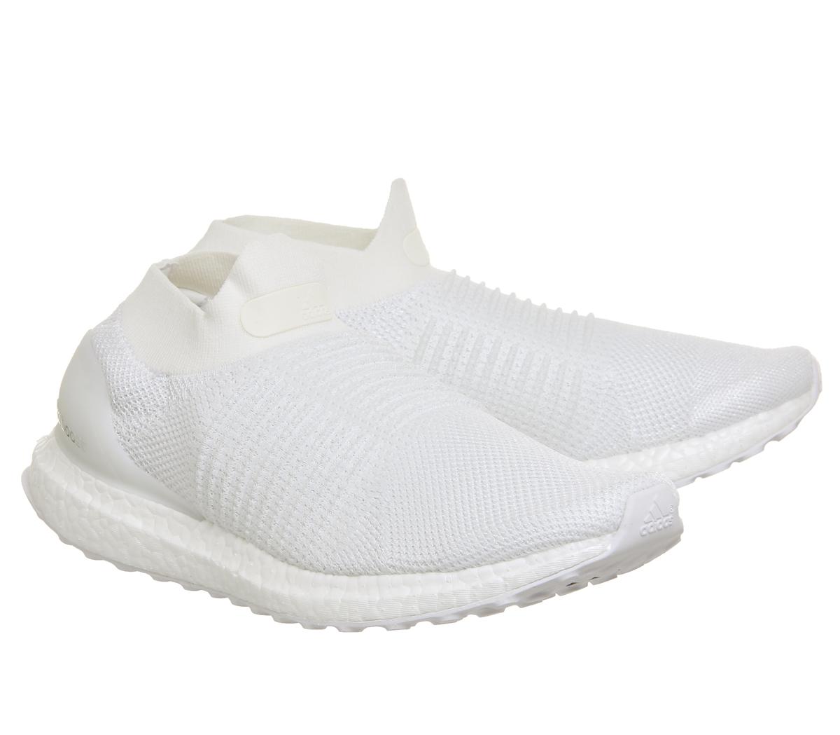 Adidas Ultra Verstärkung ohne Spitze weiß Turn Schuhe