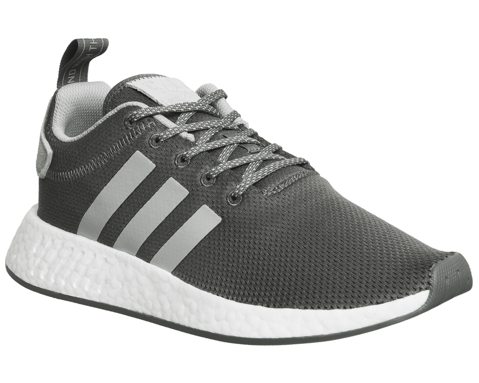 e72a2e86ae0fc Sentinel Womens Adidas Nmd R2 Trainers Grey Maroon Trainers Shoes