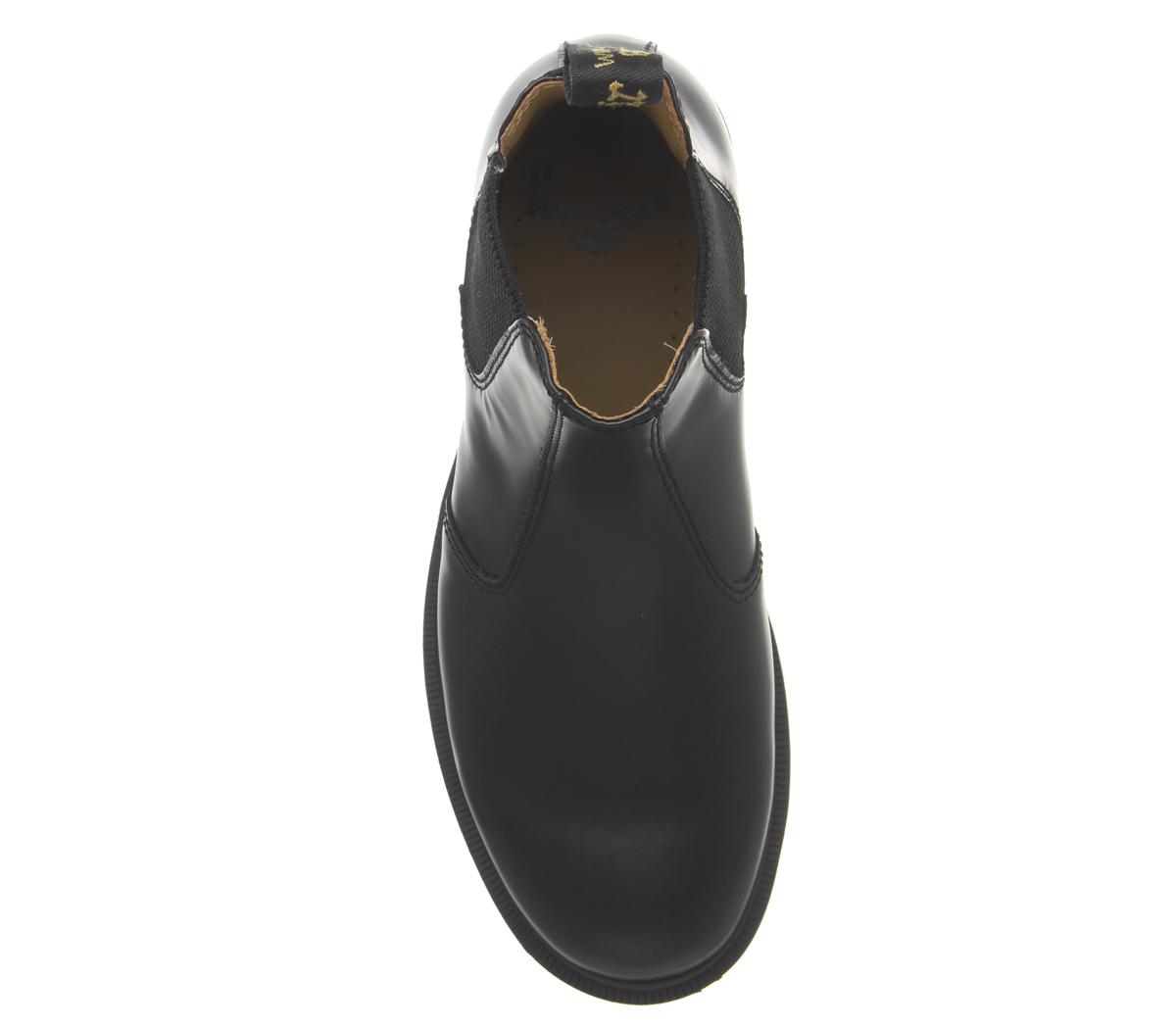 Noir Femme Chaussures 2976 Mono Chelsea Dr Martens 6Ox4Cfq