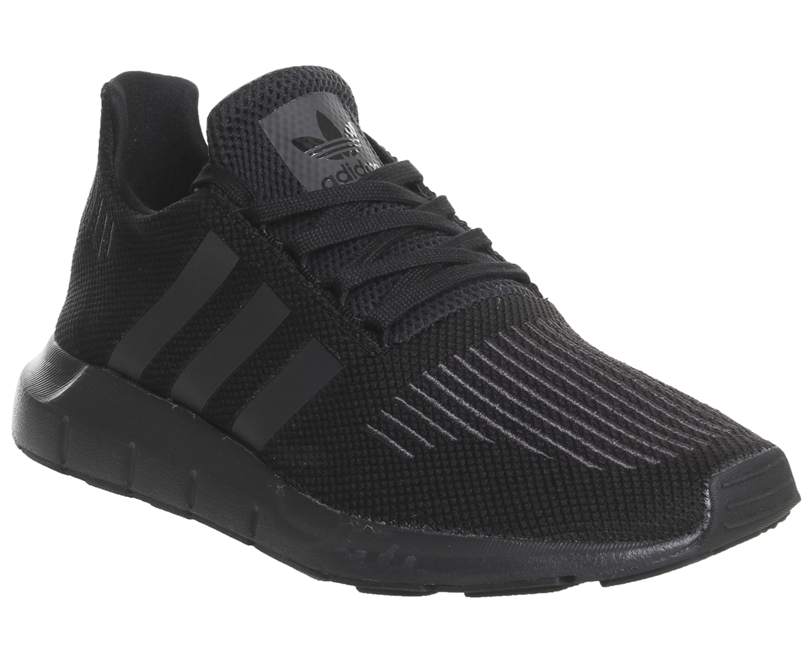 e7a92246c7a Sentinel Womens Adidas Swift Run Black Mono Trainers Shoes