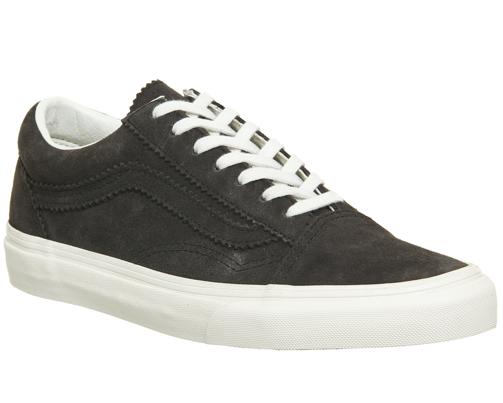 Sentinel Mens Vans Old Skool Trainers BLANC LICORICE Trainers Shoes 40a31665b