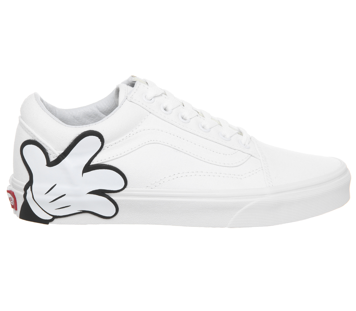 Sentinel Mens Vans Old Skool Trainers MICKEY TRUE WHITE DISNEY Trainers  Shoes 6c6df9666