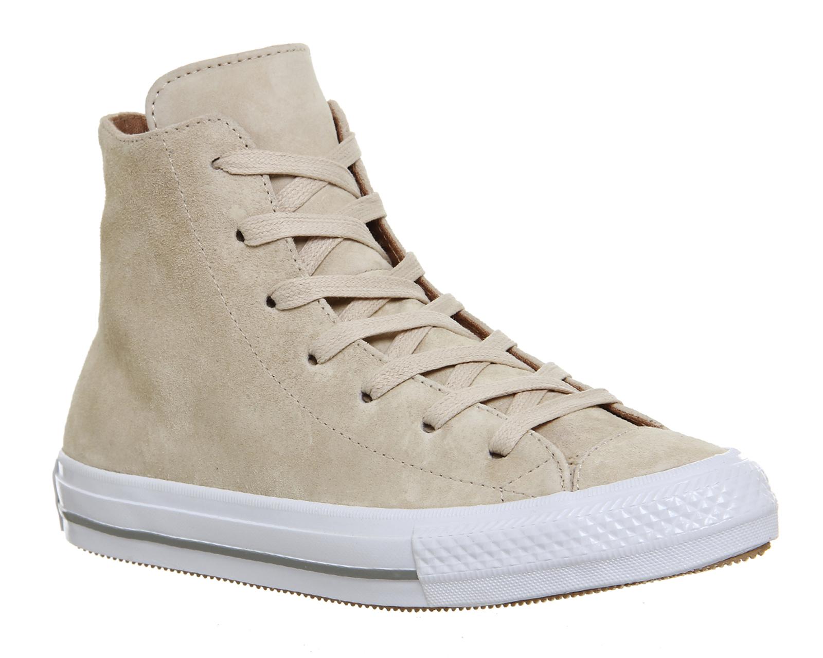 Hi Suede Shoes Gemma Trainers Ctas ex Converse Camel Ivory Womens wqATan