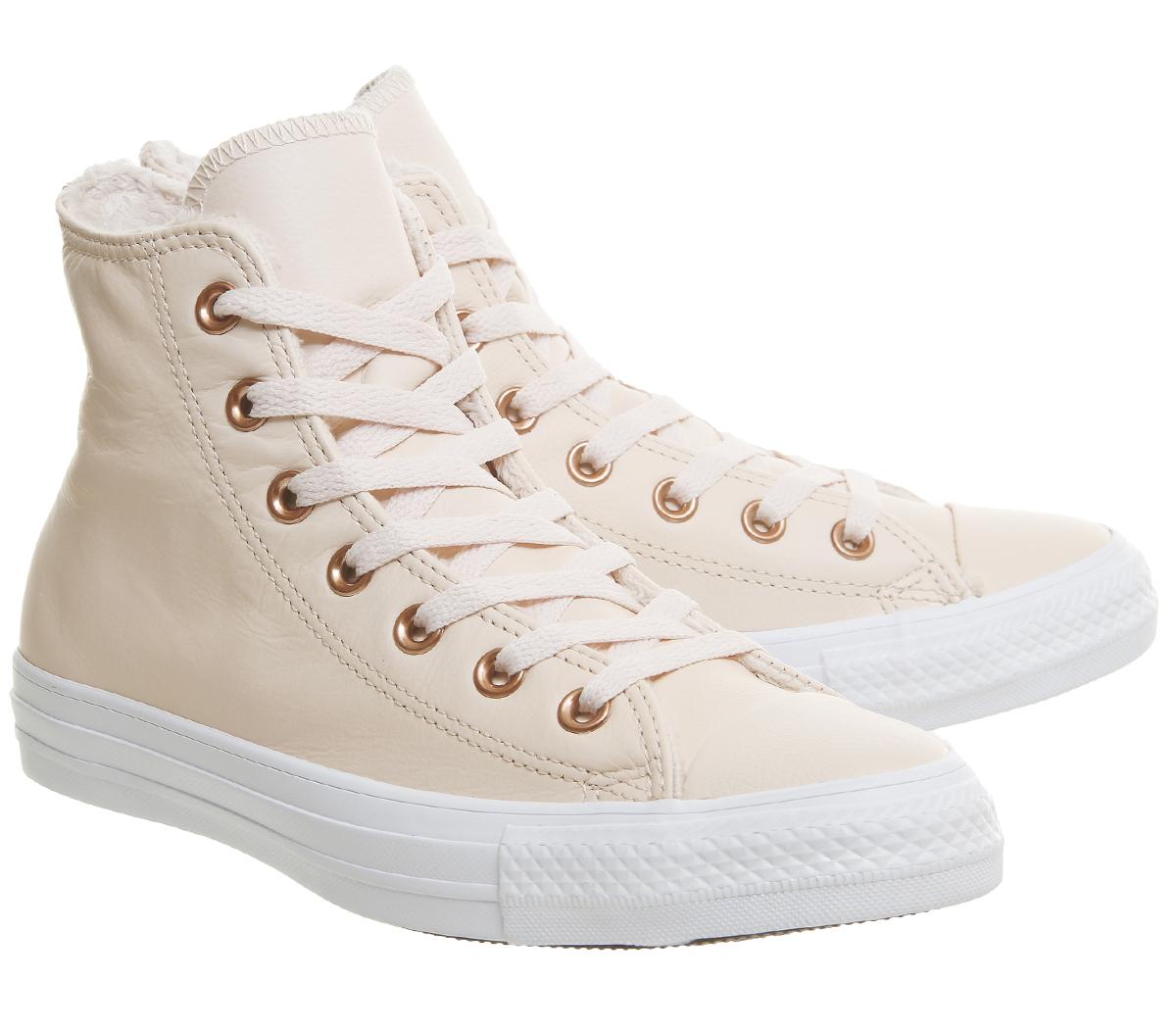 1523de65f18 ... spain chaussures femme converse all star hi cuir pastel a21b8 d64a8