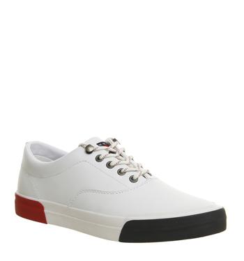 b0fcc162d4bcc Zapatos De Cuero Tommy Hilfiger Yarmouth Entrenadores Zapatillas ...