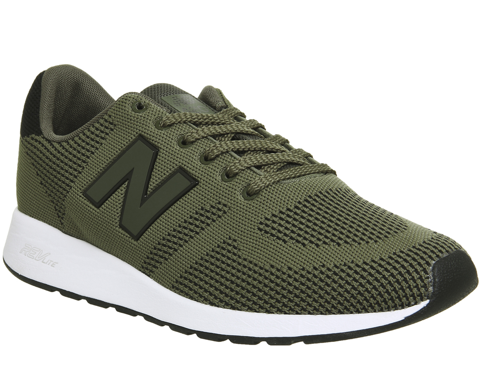 mens new balance khaki 420 trainers