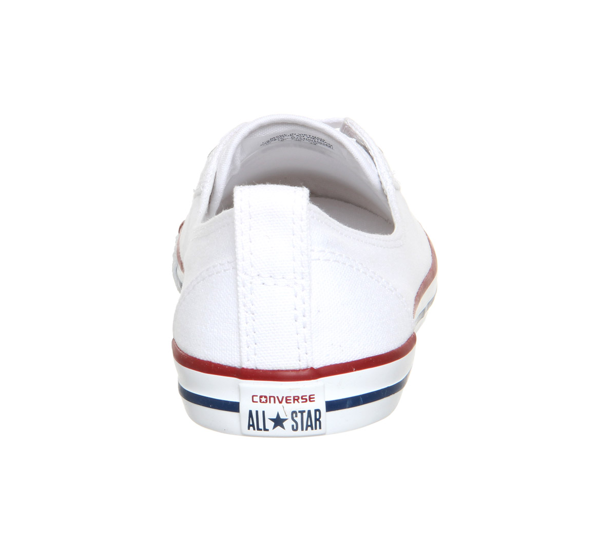4a108f11150c Sentinel Womens Converse Ctas Ballet Lace Optical White Trainers Shoes