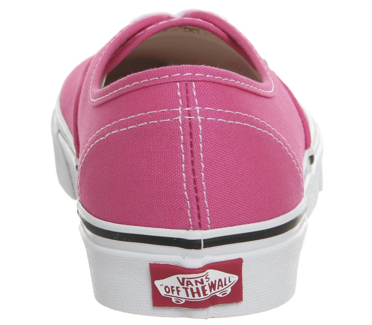 CENTINELA Mujeres furgonetas auténticos entrenadores entrenadores blanco  verdadera rosa caliente zapatos fa5765a75af