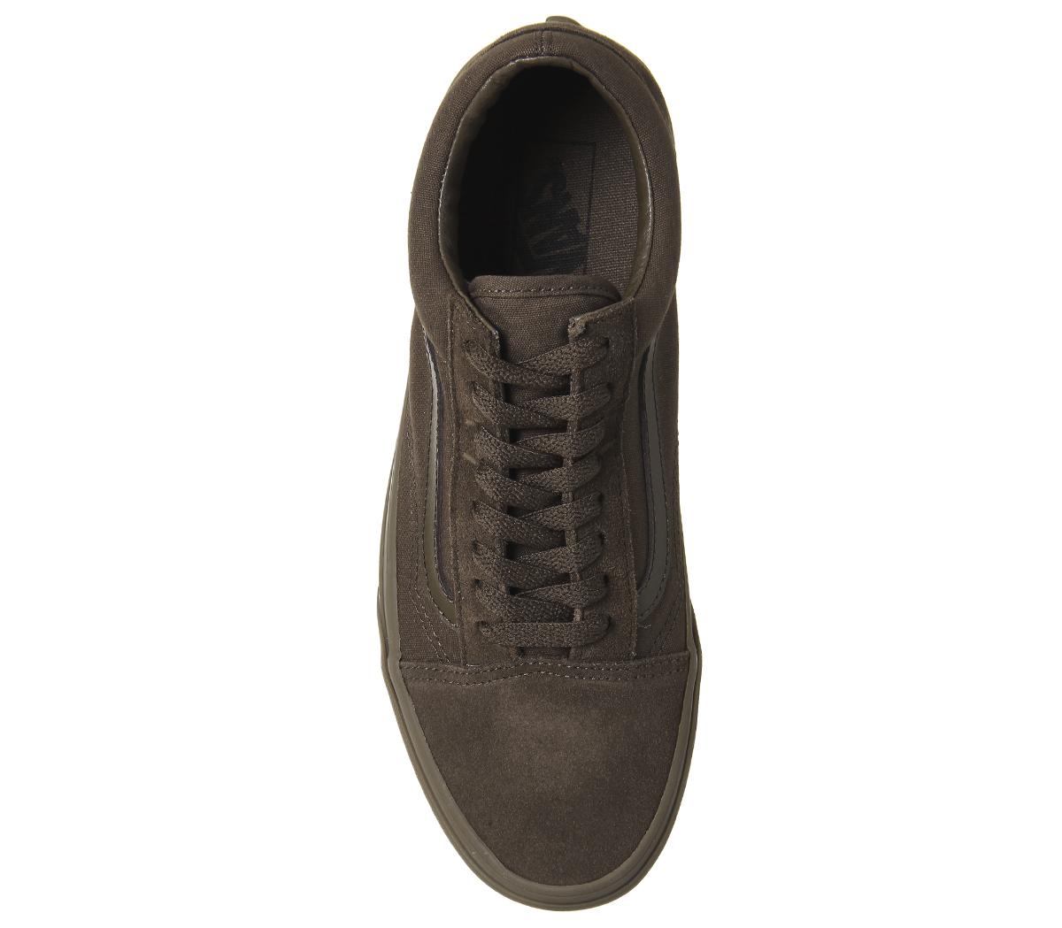 76c3f8009fb Zapatillas para hombre Vans Old Skool Dark Earth Gum Zapatillas ...