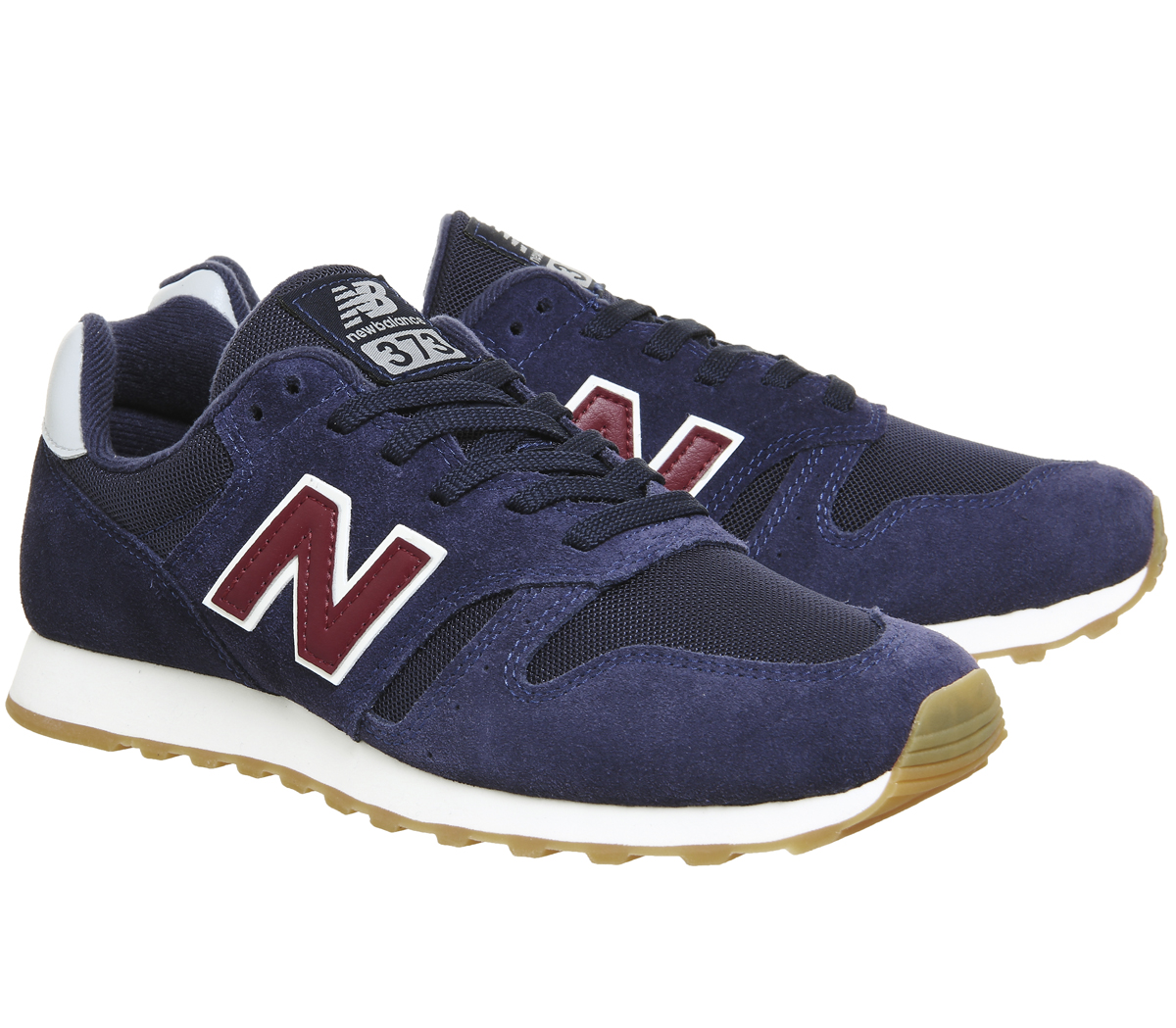 36600854312 Para mujer 373 Tenis Azul Marino Tenis New Balance Zapatos 50f5a3 ...