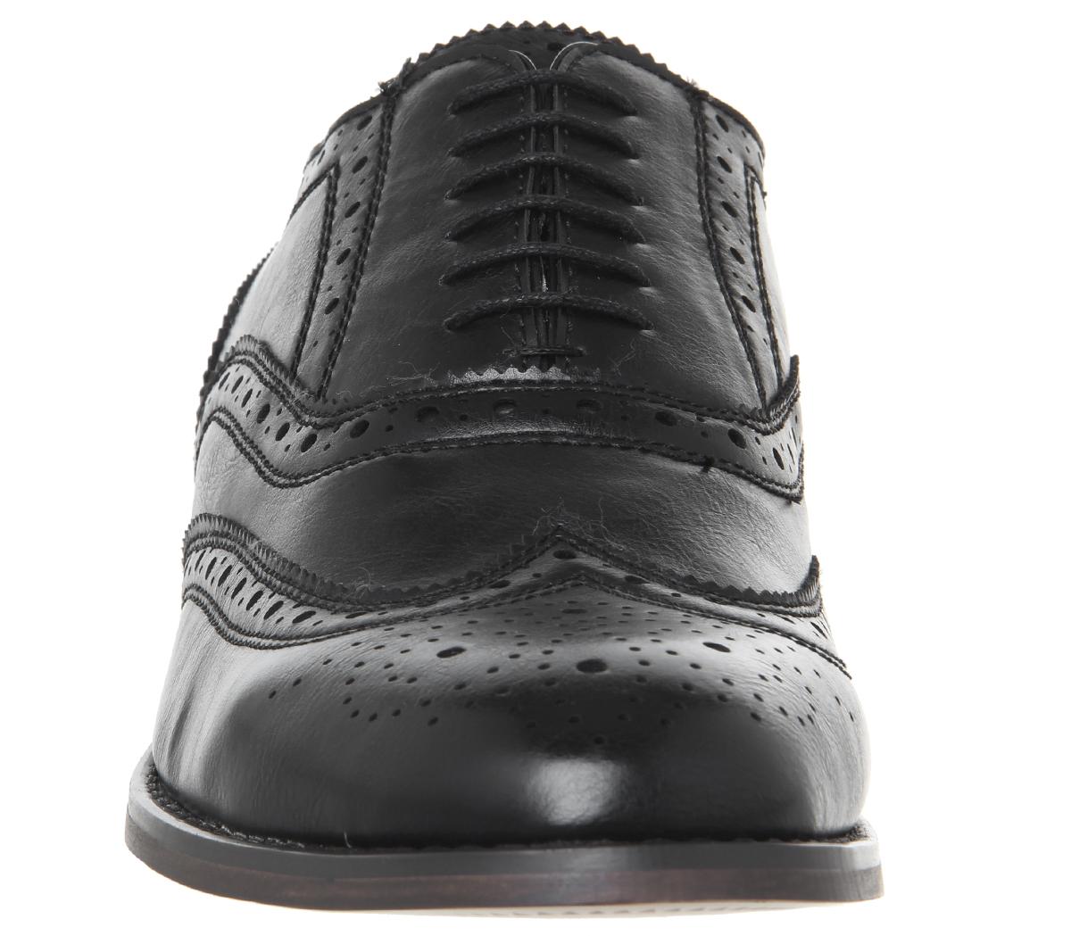 Scarpe nere da ufficio da uomo wnrqwPFA