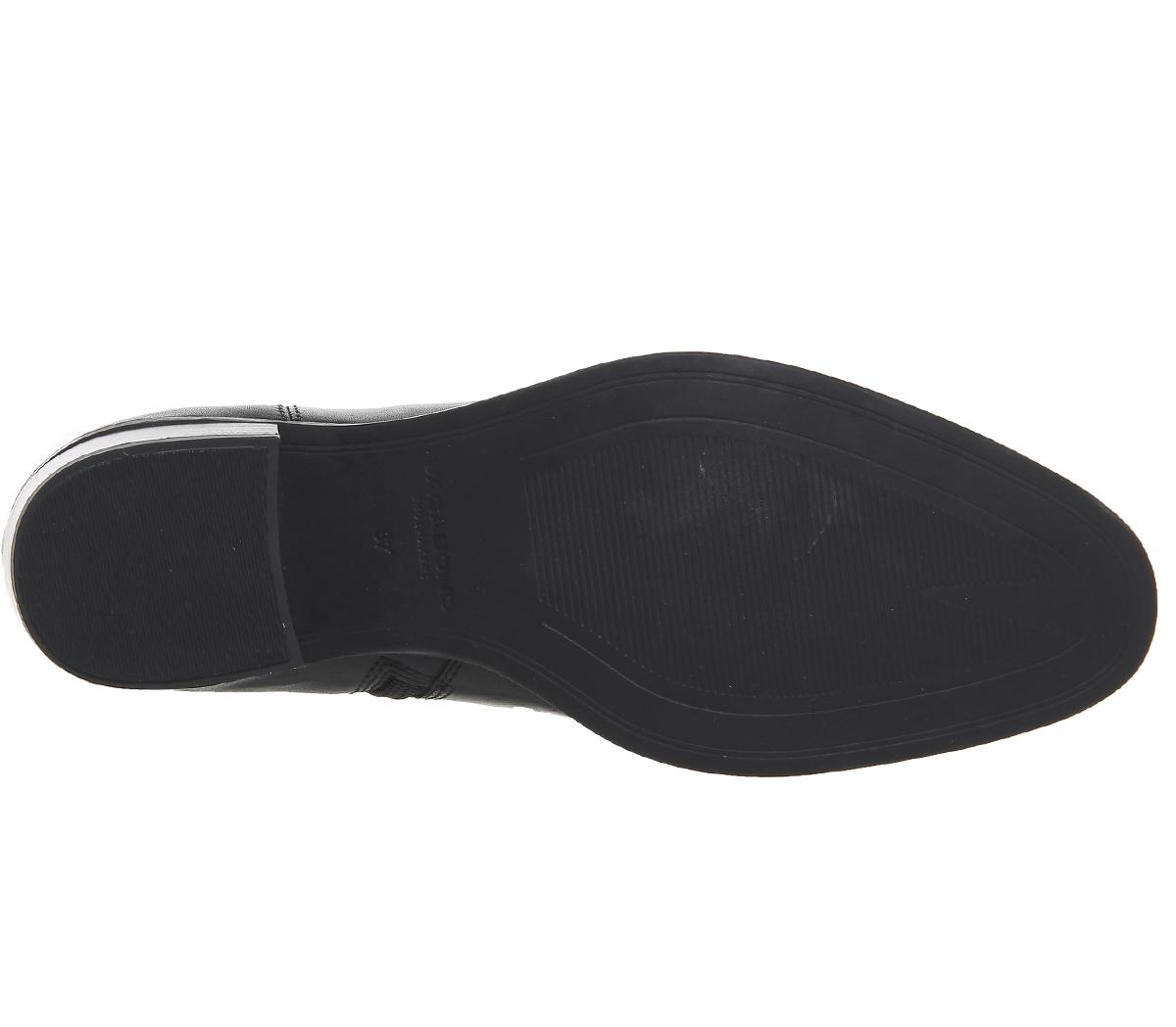 Nuevos Nuevos Nuevos zapatos para hombres y mujeres, descuento por tiempo limitado Botas Para Mujer Corte Alto Meja Vagabond Botas De Cuero Negro 632fbe