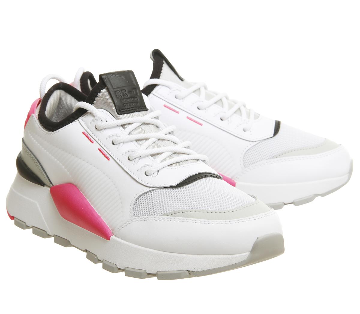 763b4886a6 SENTINEL Womens Puma Rs-0 suono scarpe da ginnastica PUMA grigio KNOCKOUT  rosa formatori scarpe bianco