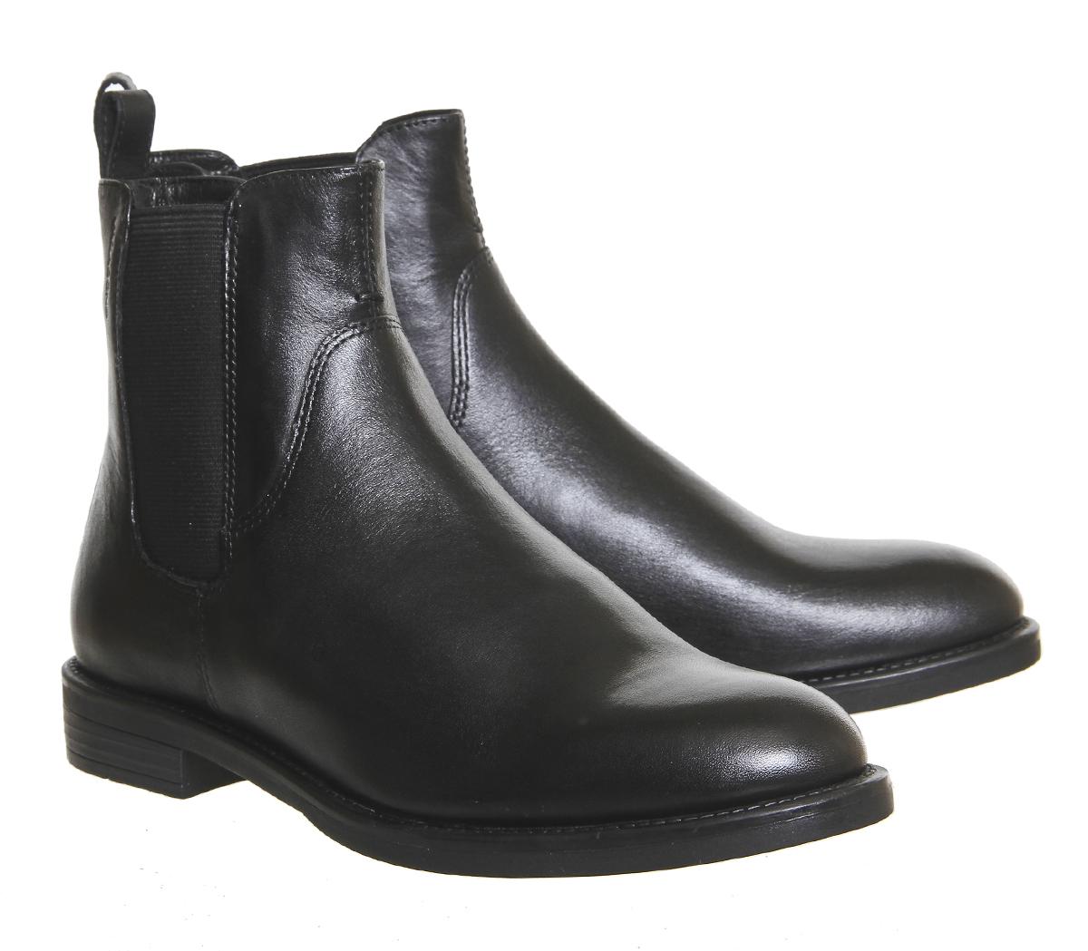 Grandes zapatos con descuento Mujer Vagabond AMINA BOTINES BOTAS DE CUERO NEGRO