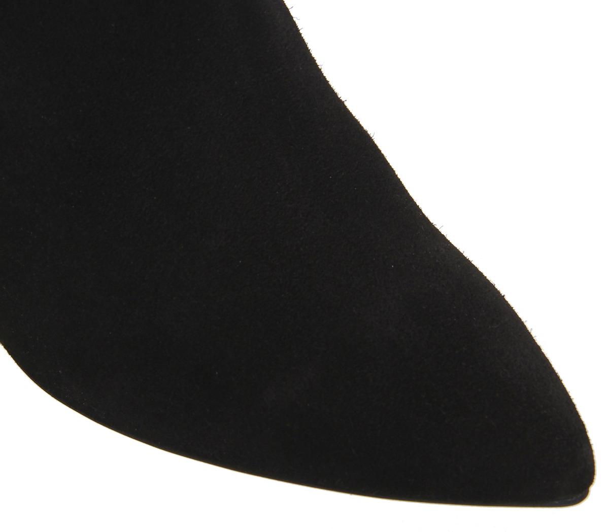 Skechers Womens Bikers-Spirit Boots Animal Chelsea Boots Bikers-Spirit Black (Black) 4 UK d4b6bc