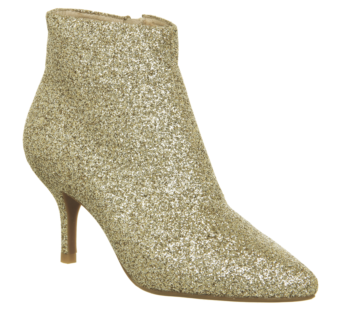 Femme Chaussure Abby l'ours Abby Chaussure bottines paillettes d'or 7b38e5