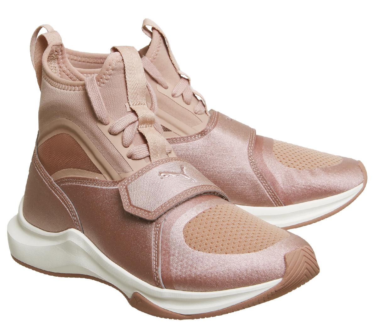 femmes femmes femmes  Puma Phenom Trainers CAMEO BROWN WHISPER  blanc  Trainers  Chaussures 4c75f4