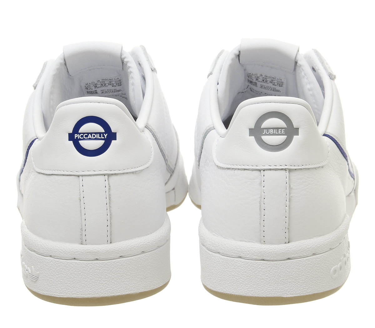 reputable site 3aeba bb726 Sentinel Adidas Continental 80S Trainers White Grey One Navy Gum Tfl  Trainers Shoes