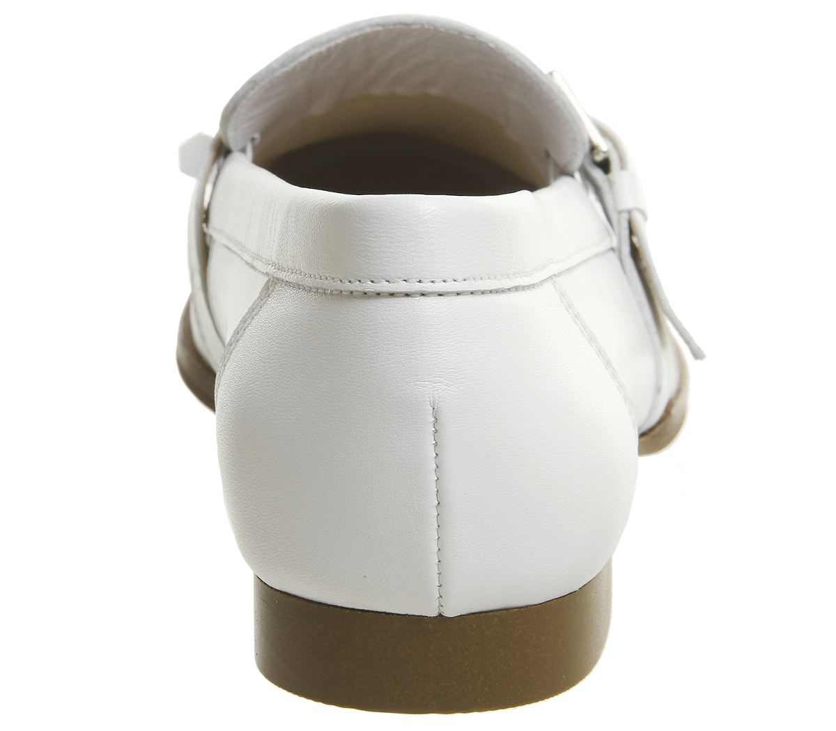 bianchi Mocassini per pelle donna con frange con Mocassini cinturino ufficio da in Pqg4PHwp