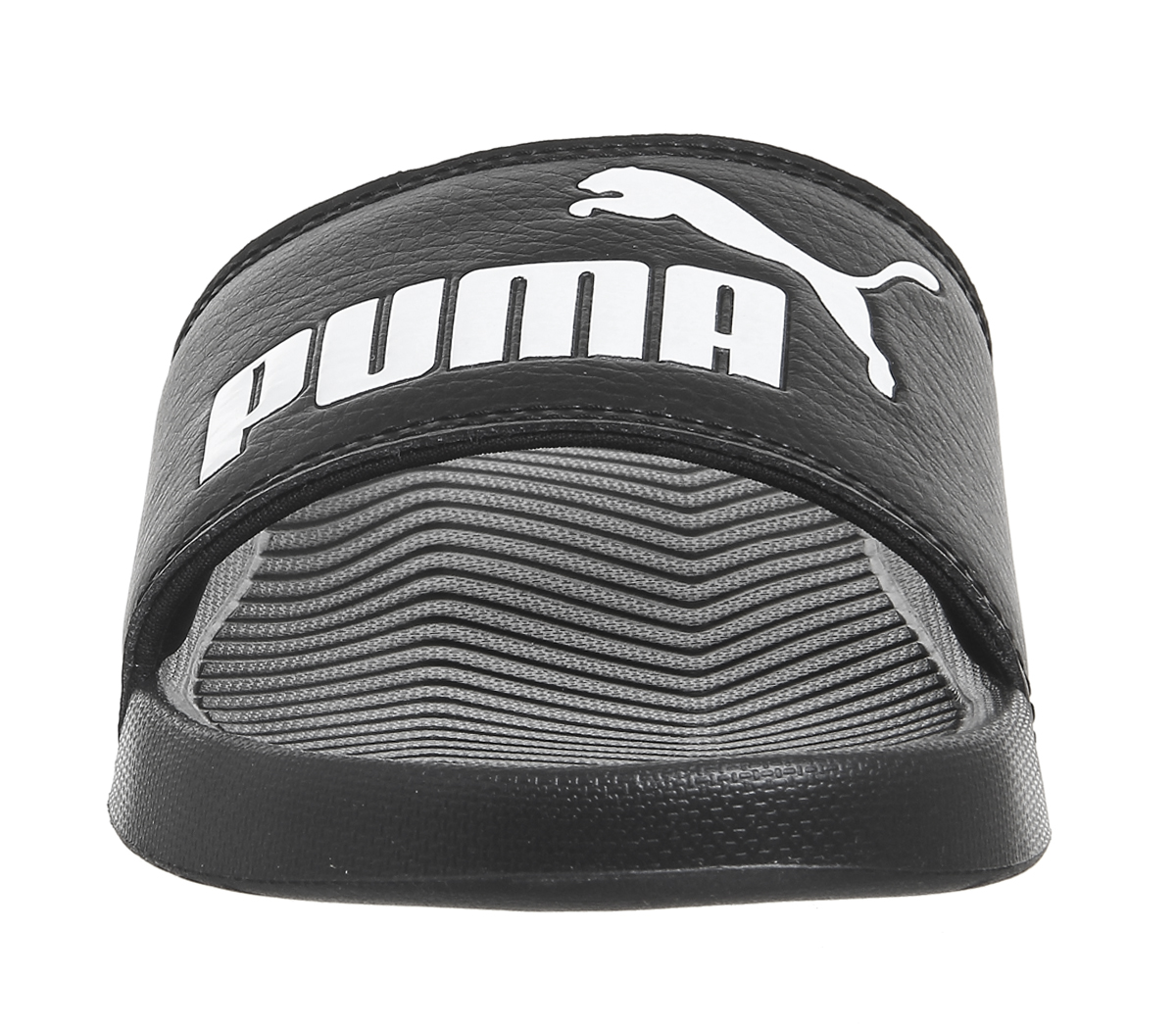 PUMA Popcat Mens Slide Black White Shoes 11 UK. About this product. Picture  1 of 6  Picture 2 of 6 ... 68f67de40